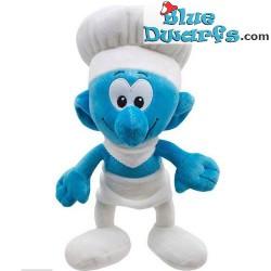 Puffi peluche: Puffo cuoco *pomodoro* (+/- 30 cm)