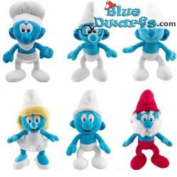 Smurf Plush: Papa smurf (+/- 25 cm)