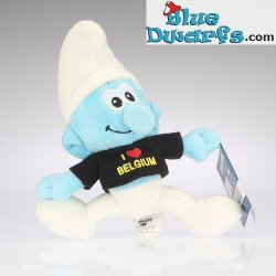Smurf Plush 1: I Love Belgium (black)