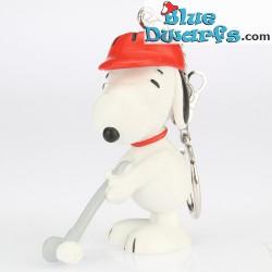 Schleich Golf Snoopy *Schlüsselring*