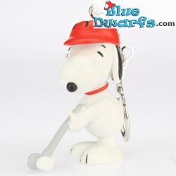 Schleich *keyring* Snoopy playing golf