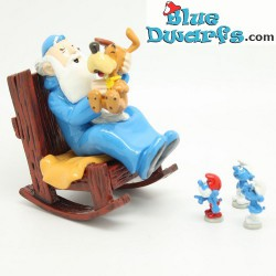 pixi06424:Omnibus with 3 smurfs and Puppy (2017)