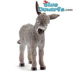 Schleich animals: Donkey foal (13746, +/-7 x 3 x 7cm)
