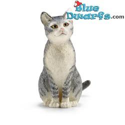 Schleich animales: Gato (13836, +/-  6,6x 1,7x 5,6cm)