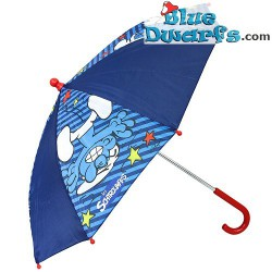 Smurf umbrella blue +/- 65cm