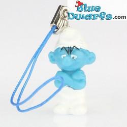 10 x Plastic smurf pendant (+/- 2,5 cm)