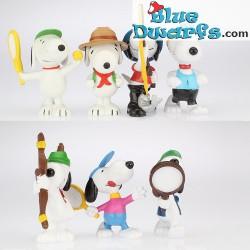 7x peanuts/ Snoopy Schleich *MIX*