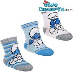 3 pair Smurf children socks (size 13-15)