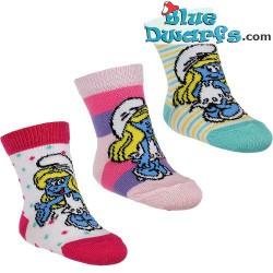 3 pair Smurf children socks (size 16-18)