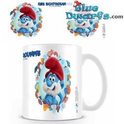 Smurfin + grote smurf mok  (23,7cl)