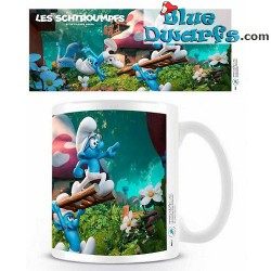 1 x The lost village smurf mug/ VILLAGE PERDU(32,5 cl)