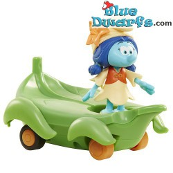 Hefty smurf with rabbit (Smurfs 3: The lost village) *Jakks Pacific *