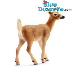 Schleich Wildlife: White Tailed doe  (14710,  +/-8 x 3,5 x 8 cm )