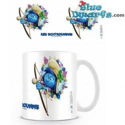 1 x The lost village smurf mug/ LES SCHTROUMPFS: SMURFSTORM (32,5 cl)
