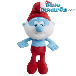 5x Smurf Plush +/- 20 cm (Smurfs 3: The lost village) *Jakks Pacific *