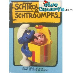 40247: Gargamel in gift box, Smurf with