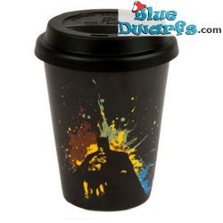 DC comics mok: Superman Coffee to Go: Text Art (0,38L)