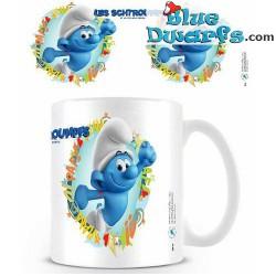 1 x The lost village smurf mug/ LES SCHTROUMPFS: Hefty Smurf (32,5 cl)