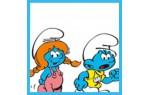 Kinder Schlümpfe