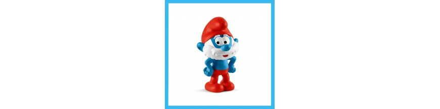 PVC papa smurfs items