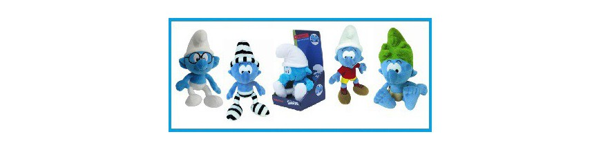 Smurf plush items