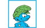Jungle smurf