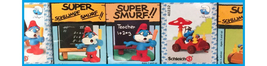Supersmurfs mint in box