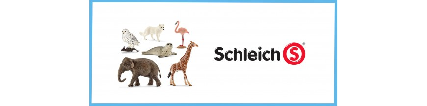 Wildlife animals Schleich