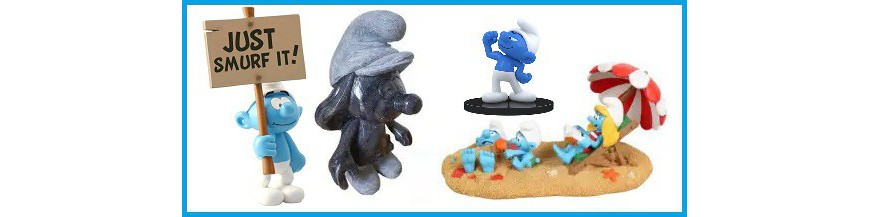 Smurf Statues