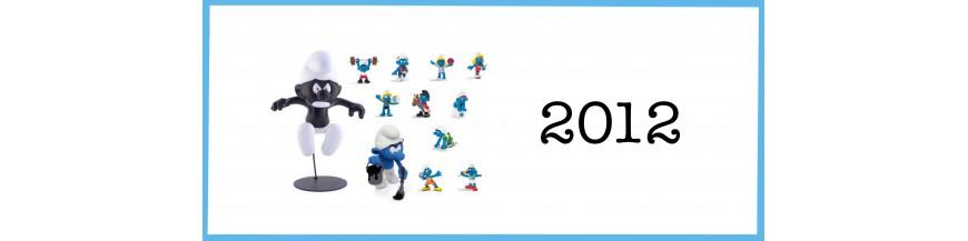 Les schtroumpfs 2012