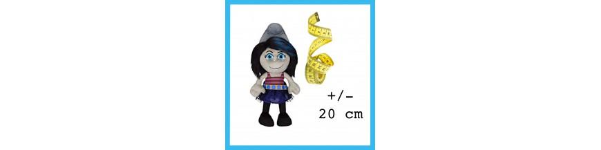 +/- 20 cm
