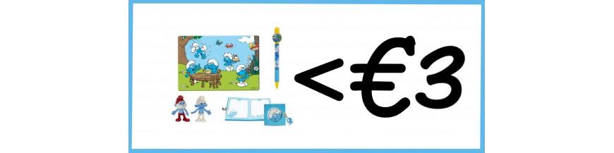 Schlumpf Artikell (max. €3)