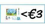 Objets schtroumpfs (max. €3,00)