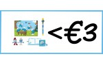 Smurf items (max. €3,00)