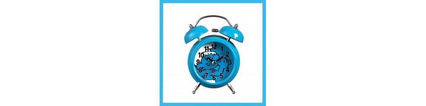 Smurf (alarm) clocks