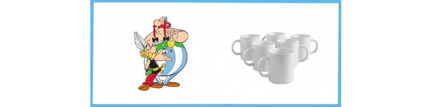 Mugs Asterix and Obelix