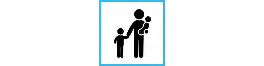 Smurf textile babies & children