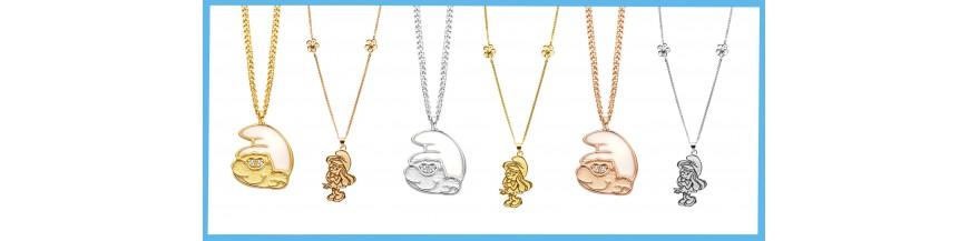 Smurf necklaces