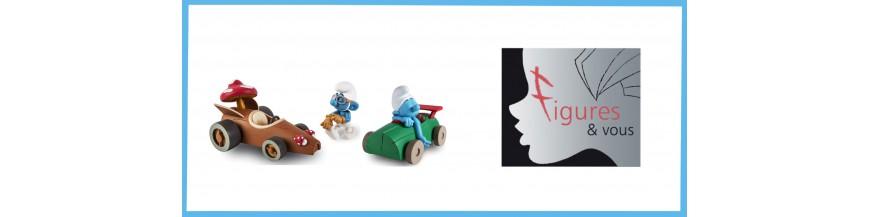 Figures & Vous smurfs