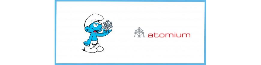 Atomium smurfs