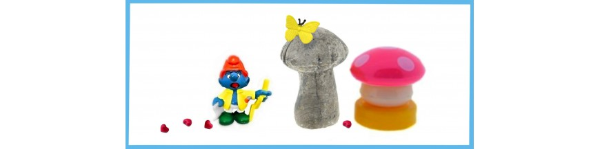 Decoration for smurfs