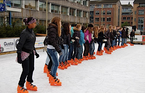 Rental skates photo impression: Bussum, The Netherlands