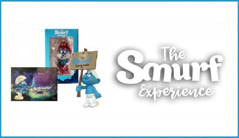 Schleich The Smurfs Sorry-Schlumpf Schlümpfe Schlumpf Schild Figur 5 cm 20749