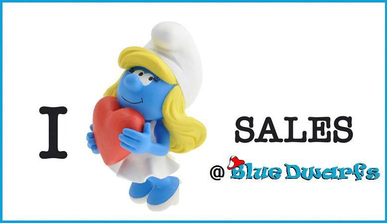 NEW Clumsy Smurf Figurine 20810 Plastic Figure Miniature 2019 SMURFS SET
